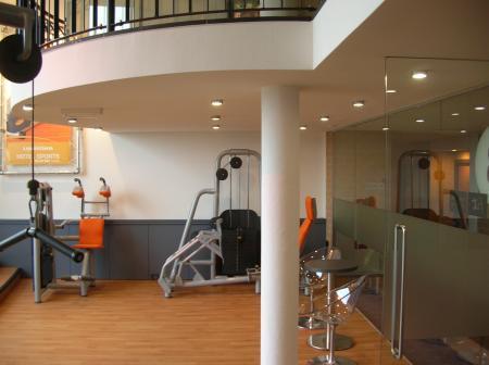 Fitness ruimte in Hotel Van der Valk