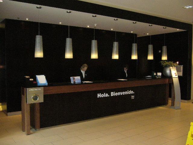 Receptie NH Hotel