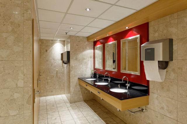 Toilet groep hotel.