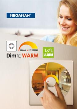 Dim to warm folder