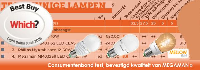 Test zuinige lampen