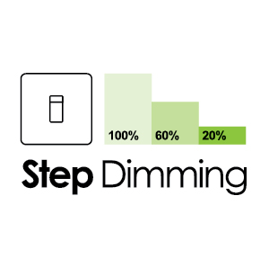 Stepdimming