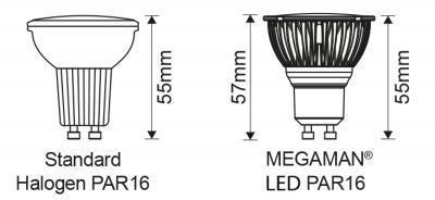 Reflector PAR16 MM09680